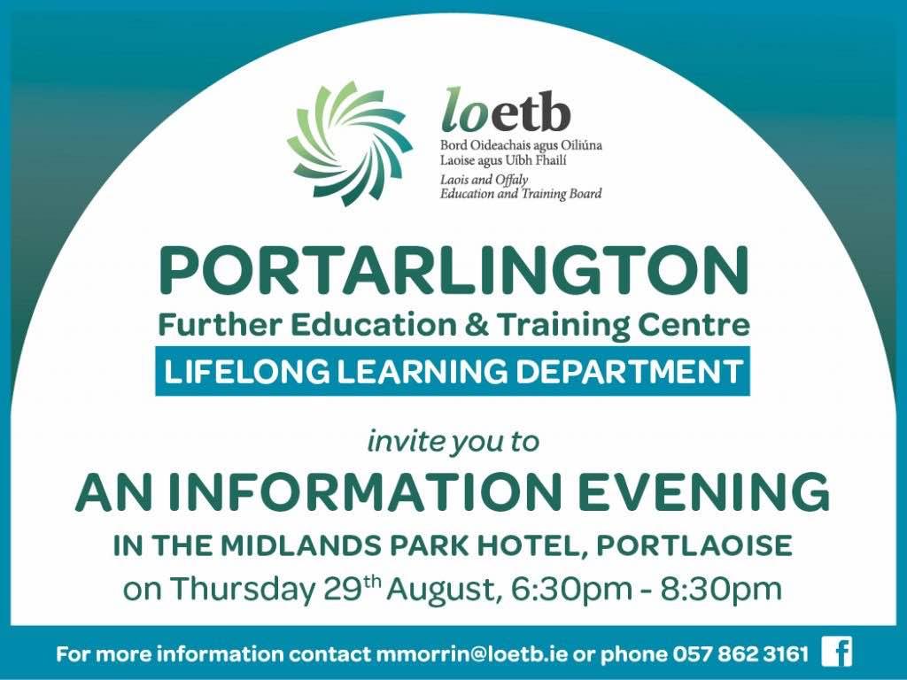 Lifelong Learning Information Evening