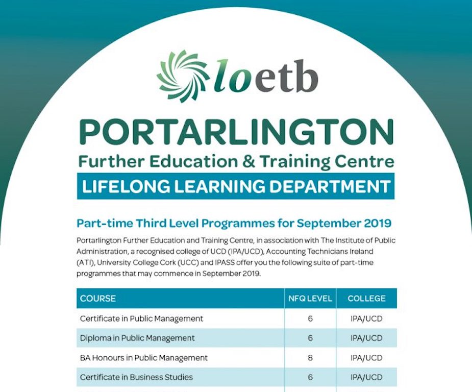 Lifelong Learning Courses 2019